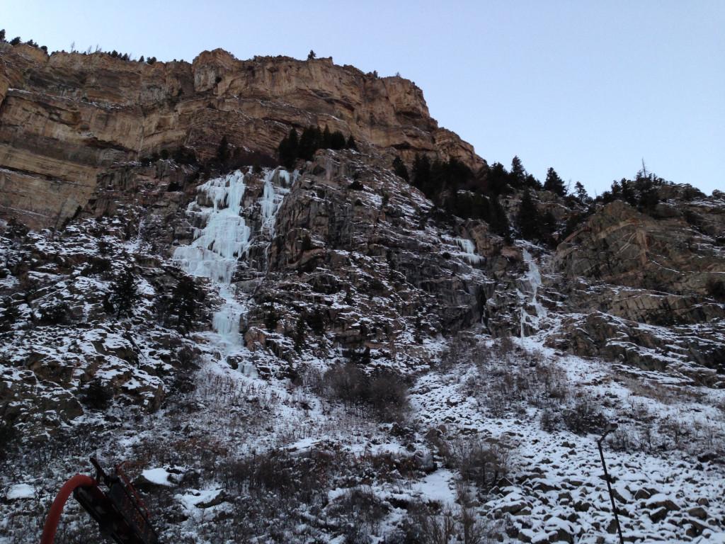 Glenwood Falls on 12-14-13.