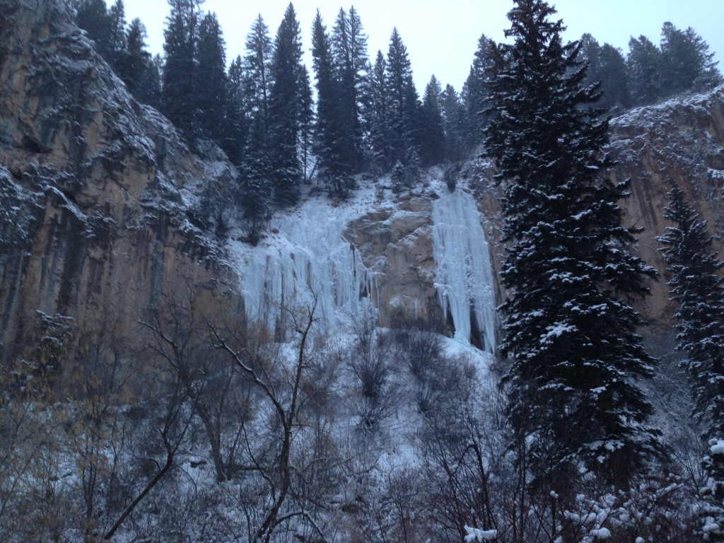 The Final Curtain in Rifle Mountain Park, CO. 12-7-13