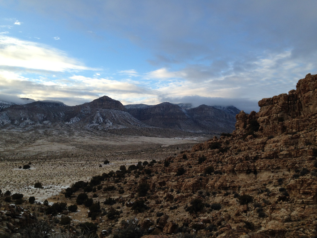 View from The Cape at Ibex, Utah.